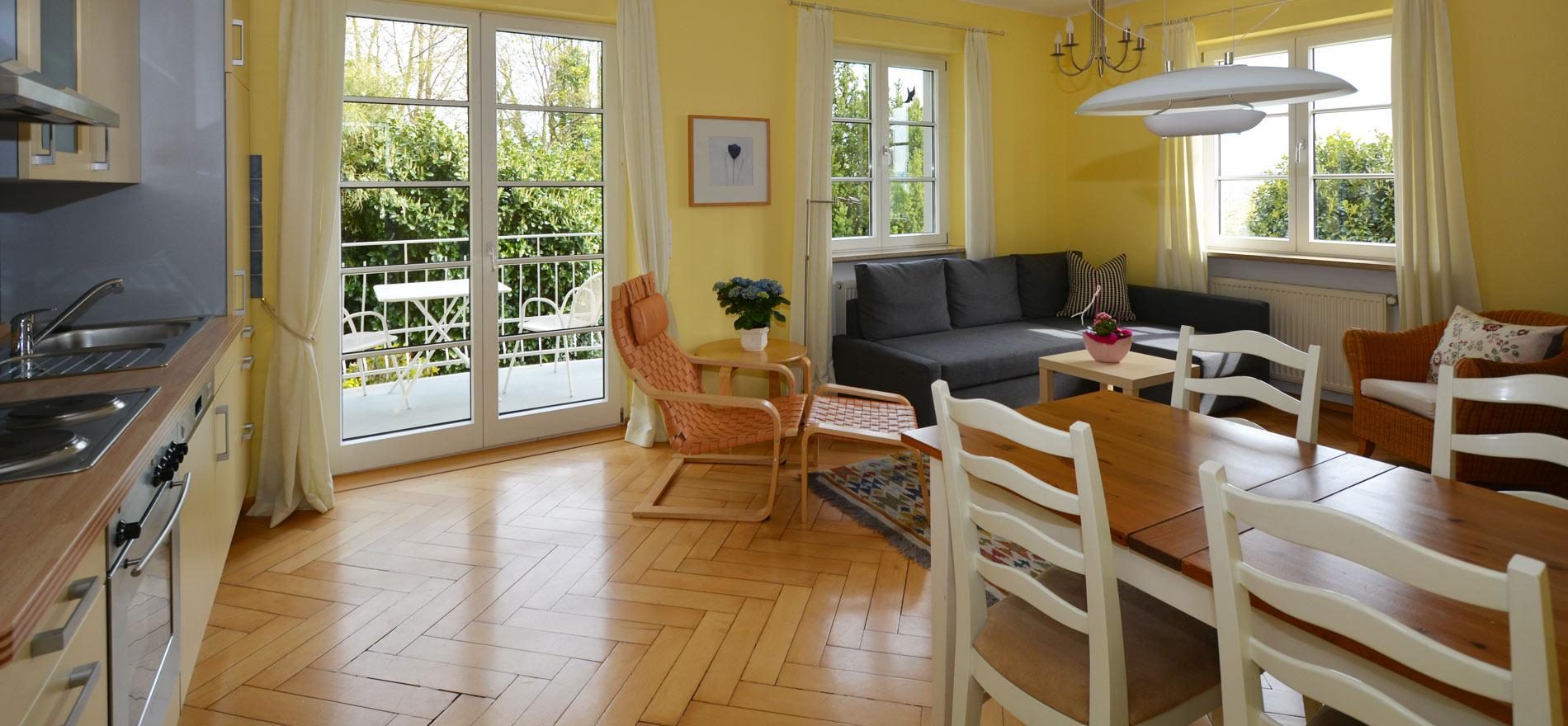 Ferienwohnung Pfarrhaus in Meersburg - Wohnung 2 1