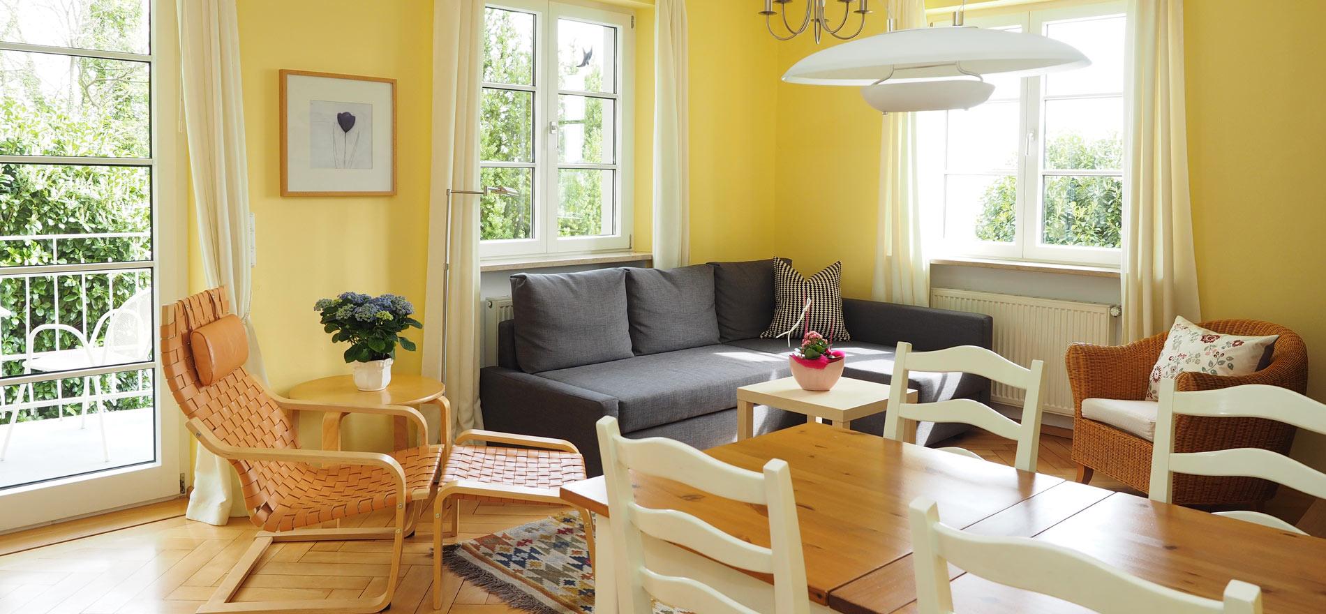 Ferienwohnung Pfarrhaus in Meersburg - Wohnung 4 1