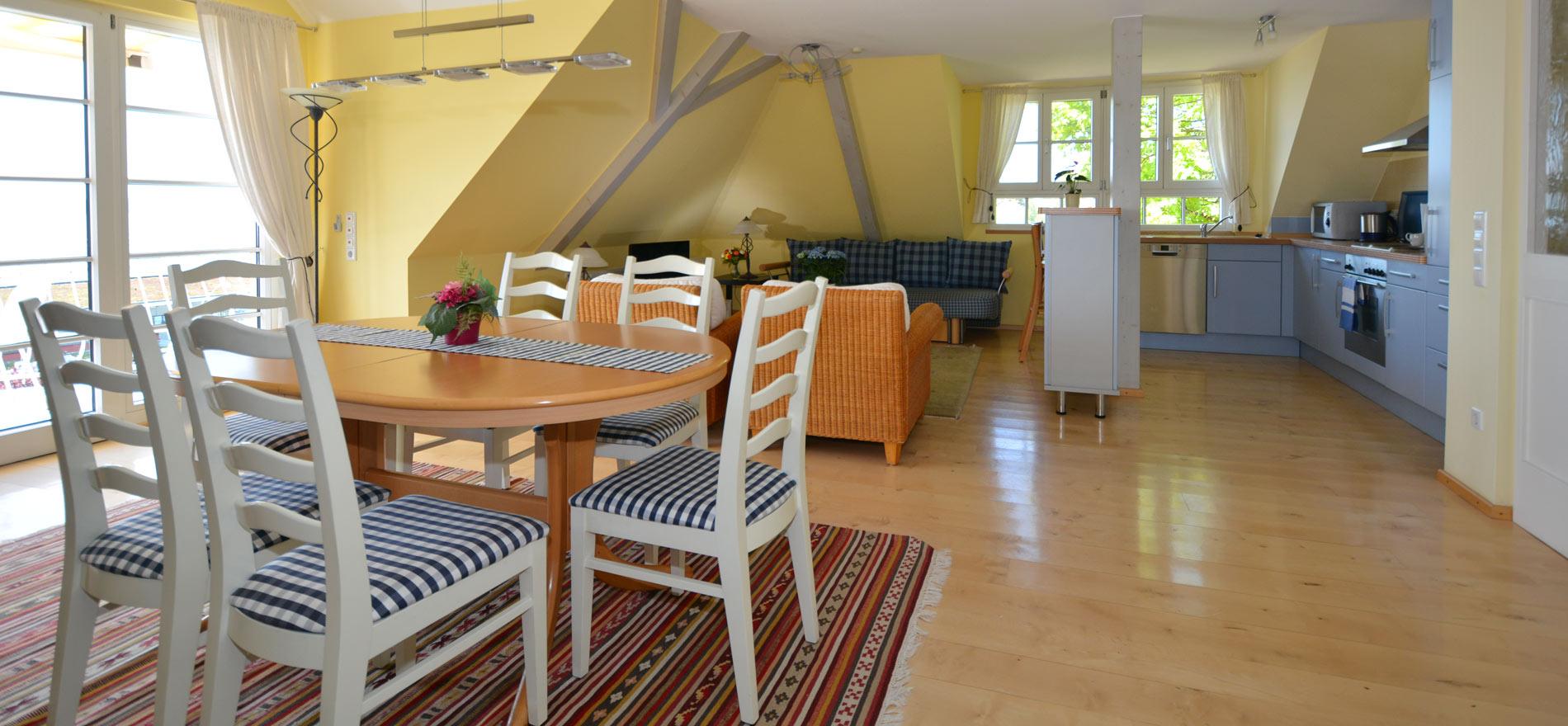 Ferienwohnung Pfarrhaus in Meersburg - Wohnung 6 3