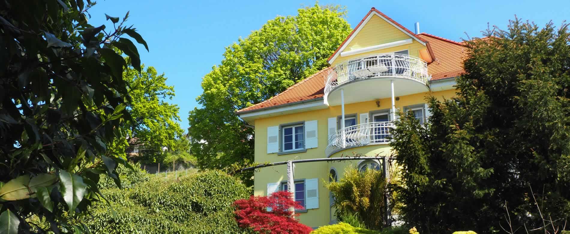 Ferienwohnung Pfarrhaus in Meersburg - Unsere Ferienwohnungen 1